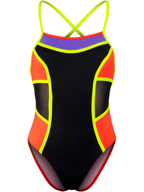 Funkita Colour Block One Piece Swimsuit Women Flame Thrower